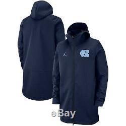 Heels North Carolina Tar Unc Nike Jordan Basketball Jacket XL Protect Nwt 150 $