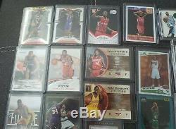 Heels Unc Tar Basketball Autograph / Rc / Jersey 55 Carte Lot