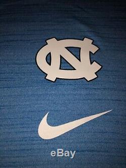 Homme Nike Unc Tar Heels De Joueur De L'université De Caroline Du Nord À Manches Longues L, XL