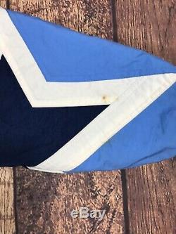 Hommes 90 Vintage Starter North Carolina Tar Heels Unc Veste Sz M Puffer Bleu