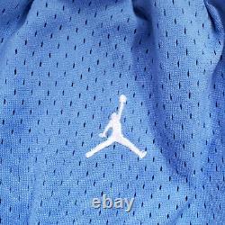 Hommes Nike Jordan Unc Caroline Du Nord Talons De Tar Basketball Shorts Hommes Grand