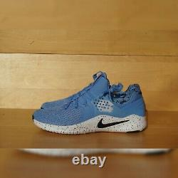 Hommes Sz 9 Nike Free Trainer Tr 8 Unc North Carolina Tar Talons Ar0407-400 Nouveau