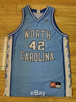 Jerry Stackhouse 1995 Heels North Carolina Tar Unc Ncaa Nba Jersey Grand