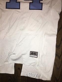 Jeu Porté Utilisé Nike Caroline Du Nord Tar Talons Unc Football Jersey # 14 Taille 44