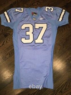 Jeu Worn Used Nike North Carolina Tar Heels Unc Football Jersey #37 Size 48