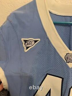 Jeu Worn Used Nike North Carolina Tar Heels Unc Football Jersey #48 Size 48