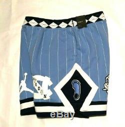 Jordan North Carolina Tar Heels Nrg Fleece Mens Shorts Valor Bleu Cd0133-448 Unc