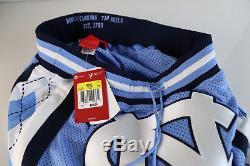 Jordan X Just Don Short Unc Valore Bleu 911337-448 S-l Talons Hauts En Goudron
