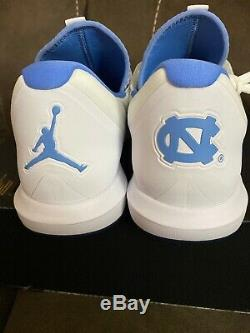 Jordanie Formateur 3 Unc Hommes North Carolina Tar Heels Ar1391-100 Chaussures De Sz 12