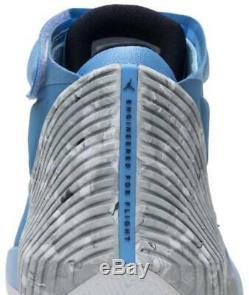 Jordanie Pourquoi Pas Zero0.1 Unc Caroline Du Nord. Tarheels Université Chaussures Bleu Taille 17