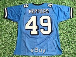 Julius Peppers Maillot Unic Panthers - North Carolina Tar Tarels - Jersey