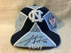 Julius Peppers Signé Unc North Carolina Tar Heels Capitaines Collection Hat Jsa