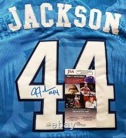 Justin Jackson A Signé Unc Tarheels Jersey Size XL En Personne. Jsa Certifiée