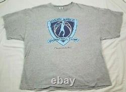 Kenny Smith Basketball Camp Unc Converse Staff Hommes T-shirt Vintage Tarheels 2xl