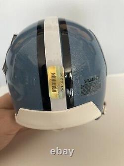 Lawrence Taylor Signé Unc Tar Heels Mini Helmet Coa