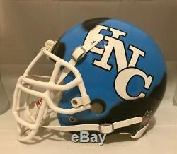 Lawrence Taylor Unc Tar Heels Ripped Ny Giants Authentique Casque De Football Américain