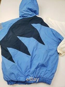 Logo Vintage Athletics Caroline Du Nord Unc Tar Heels Jacket Mens Taille Grand Nouveau