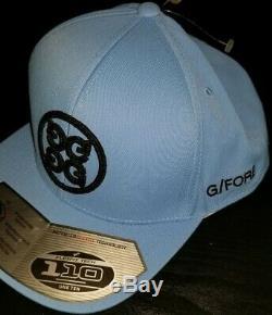 Lot De 2 G / Fore Golf Snapback Mens Hat Golf Cap Tarheels Unc Flexfit