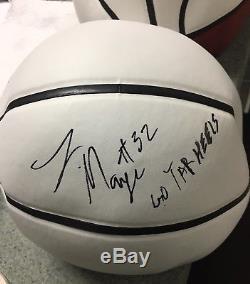 Luke Maye Basketball Coa Autographiée Autographiée Par Caroline Du Nord