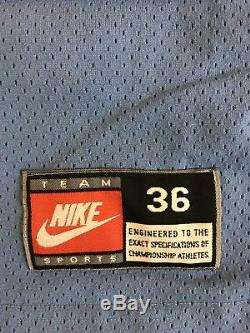 Maillot De Basket-ball Michael Jordan Vintage Vintage Nike Unc Tar Heels Tar