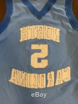 Maillot De Basketball Ed Cota Vintage Nike Ncaa Unc Tar Heels Vintage, Rare