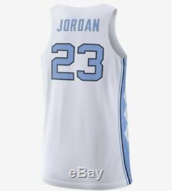Maillot Michael Jordan Unc -tailles Surpiquées- Nike-nwt-retail 150 $