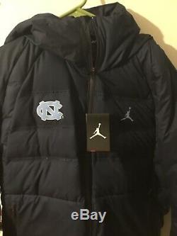 Manteau Nike Jordan Unc Tar North Carolina Aeroloft À Capuchon Et Veste En Duvet XL Tn-o. 300 $