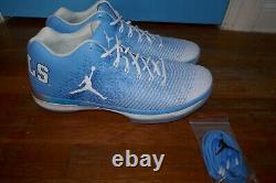 Mens 16 Nike Air Jordan 31 XXXI Low Unc Tar Heels Carolina Pe Se Shoes Baskets