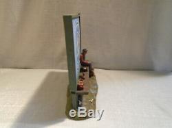 Michael Garman Mini Panneau Publicitaire Unc Tar Talons Figurine Sculpture # 748