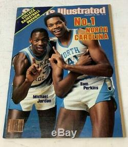 Michael Jordan 1983 Unc Tarheels 1er Magazine Des Sports Illustrated Dernière Danse