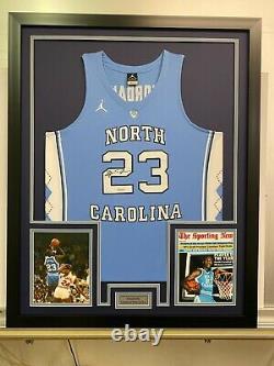 Michael Jordan Autograph Upper Deck Unc Tarheels Authentic Jersey Uda Coa Bulls