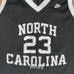 Michael Jordan Caroline Du Nord Unc Tar Talons Nike Swingman Basketball Jersey XL
