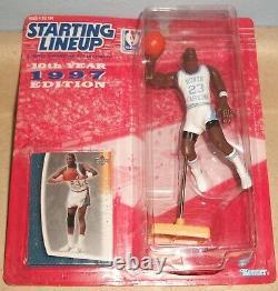 Michael Jordan Last Dance Unc Tar Heels Packaged Custom Starting Lineup Slu Ncaa