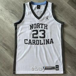 Michael Jordan Medium 40 Unc Tar Talons Jersey Gray North Carolina Swingman Bulls