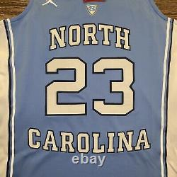 Michael Jordan North Carolina Tar Talons Unc Authentic Jersey Medium 36590x-23r