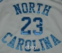 Michael Jordan North Carolina Tar Talons Unc Nike Air Jordan Basketball Jersey M