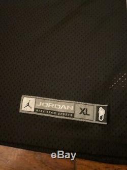 Michael Jordan Unc Jersey Noir Caroline Du Nord Tarheels Taille XL