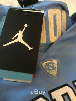 Michael Jordan Unc Tarheels Jersey-nike Cousu Extra Large Détail 150 $ Nwt