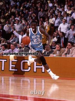 Michael Jordan Unc Tarheels Original 35mm Kodachrome Slide