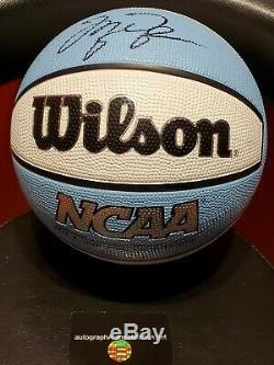 Michael Jordan Wheaties Box Signés Ncaa Unc Caroline Du Nord Tar Heels De Basket-ball