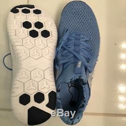 New Sz 11 Hommes Nike Free Trainer Tr 8 Unc North Carolina Tar Heels Ar0407-400
