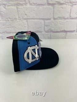 New Vintage 90s Ncaa Caroline Du Nord Tarheels Unc Snapback Starter Hat Rare Vtg