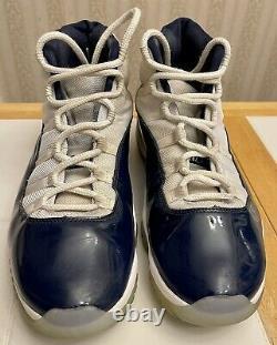 Nike Air Jordan 11 Retro XI Win Like'82 Bulls Tarheels Sz 12.5 Unc 378037 123