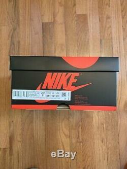 Nike Air Jordan 1 Retro Haute Og Unc Tar Heels Taille Hommes 11,5 Sneakers Chaussures Nib