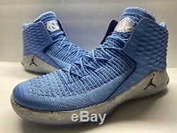 Nike Air Jordan 32 Hommes Heels XXXII Unc Tar Bleu (aa1253-406) Taille 17 Us