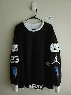 Nike Air Jordan 3 Tar Heels Unc Noir Réversible Carolina Bleu Bv3952-100 XL