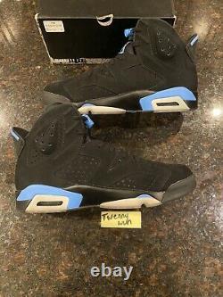 Nike Air Jordan 6 Retro Tar Talons, Unc 2017 Taille 11
