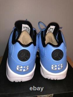 Nike Air Jordan 9 Retro Bas Pantone Columbia Bleu Unc Tarheels Taille 10.5