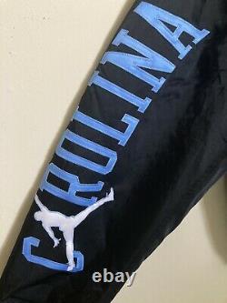Nike Air Jordan Carolina Tar Heels Satin Stitched Bomber Jacket XL Bv3927010 Unc