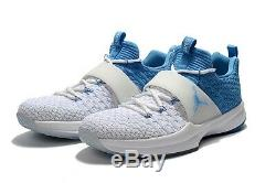Nike Air Jordan Formateur Unc North Carolina Tar Heels Hommes Taille 8.5 New Wob